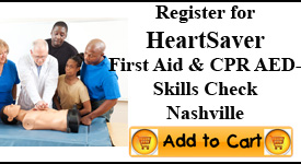First Aid CPR Skills Check Nashville