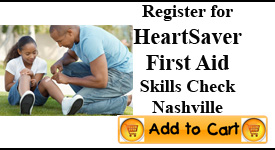 Heartsaver First Aid Skills Check, Nashville