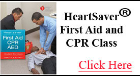Heartsaver First Aid and CPR