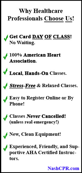 CPR Nashville | BLS, ACLS & PALS Classes | CPR Certification